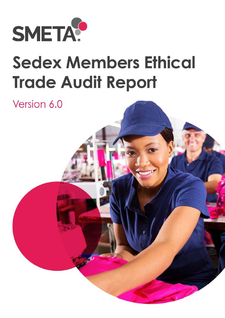 Sedex Members Ethical Trade Audit Report